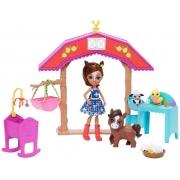 Boneca Enchantimals Aventuras na Fazenda - Mattel GJX23