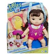 Boneca Little Baby Alive Turma Estilosa Morena - Hasbro E6646