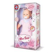 Boneca Meu Bebê Vestido Rosa 60 Cm - Estrela