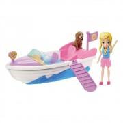 Boneca Polly Pocket - Polly e Lancha - Mattel GDM08