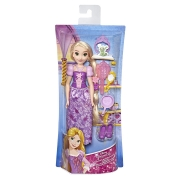 Boneca Princesa  Rapunzel com acessórios Roxa - Hasbro E3048