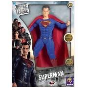 Boneco Articulado 50 Cm Liga Da Justiça Super Man Mimo 920