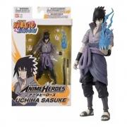 Boneco Articulado Sasuke Uchiha Naruto Bandai - Fun F00512