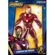 Boneco Gigante 50 cm Iron Man Prime Avengers Ultimato - Mimo 563