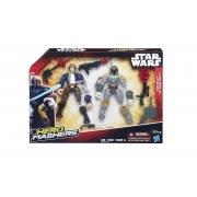 Boneco Han Solo vs Boba Fett Hero Mashers - Hasbro B3827