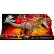 Boneco Jurassic World TRex de Batalha GCT91 - Mattel