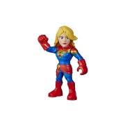 Boneco Marvel Super Hero Adventures Capitã Marvel E7933/E4132 - Hasbro