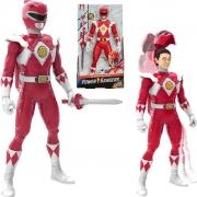Boneco Power Rangers Ranger Vermelho Morphin - Hasbro 7791