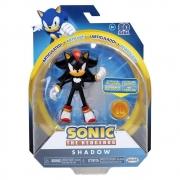 Boneco Shadow  Articulado The Hedgehog Sega - Fun F00662