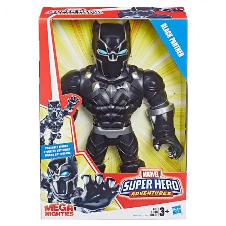 Boneco Super Hero Adventures Pantera Negra - Hasbro E4151