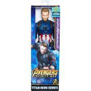 Boneco Titan Capitão America Avengers Guerra Infinita E0570