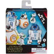 Bonecos Star Wars Galaxy Adventure R2d2,bb8,do-E3118 Hasbro