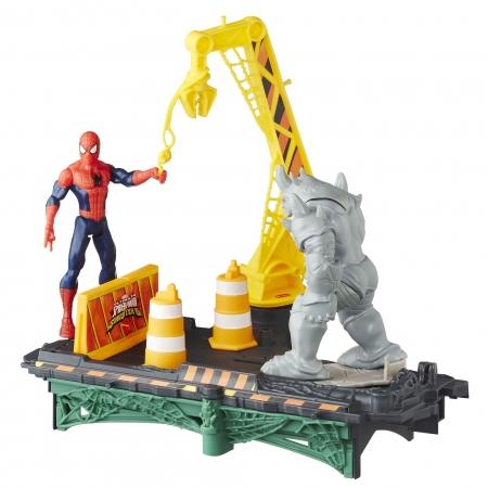 Brinquedo Cenário Homem Aranha Wc Rhino - Hasbro B7199