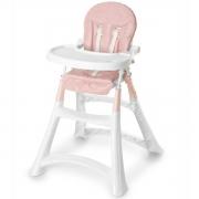 Cadeira de Alimentação Alta Premium Rosa - Galzerano 5070RO