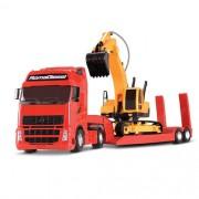 Caminhão Cegonha Diesel e Trator Escavadeira Still - Roma 1301