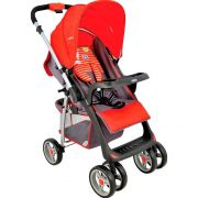 Carrinho De Bebê Zap Vermelho 5212 Kiddo