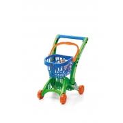 Carrinho de Compras Imaginativa Super Mercadinho Cesto Azul - TaTeTi 210