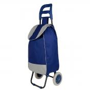 Carrinho de Compras Leva Tudo Bag To Go Azul - Mor 2498