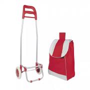 Carrinho de Compras Leva Tudo Bag To Go Vermelha - Mor 2498