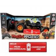 Carro de Controle Remoto Max Road Sortido Jeep - Polibrinq CAR501