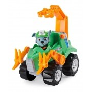Carro e Figura Patrulha Canina Dino Rescue Rocky - Sunny 1499