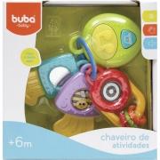 Chaveiro de Atividades Com Luz e Som 10648 - Buba