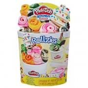 Conjunto de Massinhas Play Doh Rollzies Sorvete Hasbro E8055