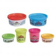 Conjunto de Slime Play-Doh 6 Variedades - Hasbro E8796
