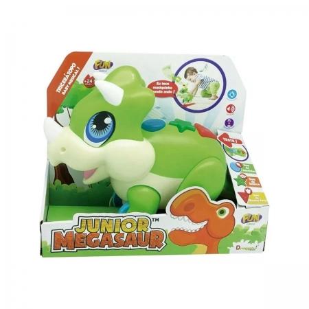 Dino Junior Megasaur  tricerátopos baby Musical - Fun F00181