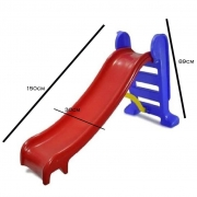 Escorregador Grande Vermelho - BB Bolinhas 501