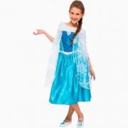 Fantasia Frozen Elsa Clássica Tamanho M - Regina  107903.4