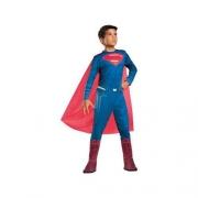 Fantasia Super Homem Clássica Longa Tam M 11095 - Regina