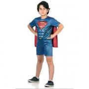 Fantasia Super Homem Curto G 10893 - Sulamericana