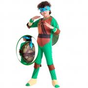Fantasia Tartarugas Ninja Leonardo G 35641 - Sulamericana