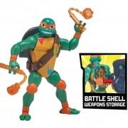 Figura As Tartarugas Ninjas Michelangelo Batalha - Sunny 2040