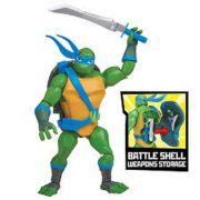 Figura De Açao As Tartarugas Ninjas Leonardo casco de batalha 2040 - Sunny
