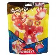 Figura Elástica Heroes Of Goo Jit Zu Marvel Homem de Ferro - Sunny 2234