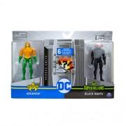 Figuras 10 Cm DC Comics Aquaman e Black Manta - Sunny 2194