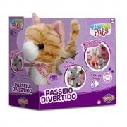 Gatinho Caramelo Play Full Pets - Toyng 42140