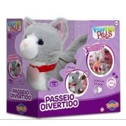 Gatinho Cinza Play Full Pets - Toyng 42140