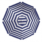 Guarda-Sol Alumínio 2,60m Azul Marinho - Mor 3751
