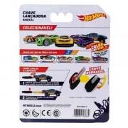 Hot Wheels Carro Com Chaveiro Lançador cinza - Fun F00034