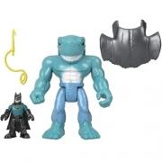 Imaginext Figuras de Ação Batman e King Shark - Mattel M5649