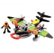 Imaginext-Super Aviões Sky Racer Windscorpion - Mattel T5120