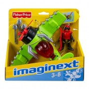 Imaginext-Super Aviões Sky Racer Windscorpion - Mattel T5120