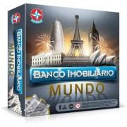 Jogo de Tabuleiro Banco Imobiliário Mundo - Estrela