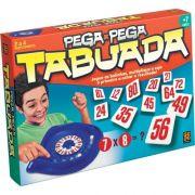 Jogo De Tabuleiro Pega Pega Tabuada - Grow 1467