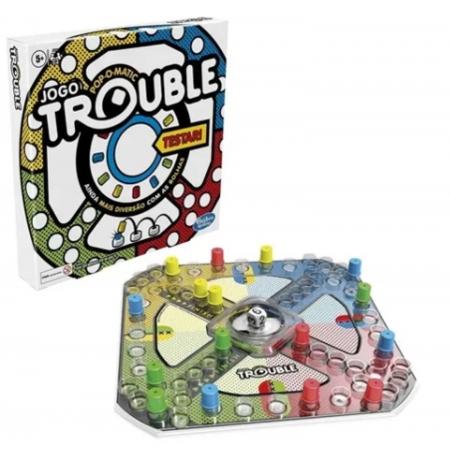 Jogo de Tabuleiro Trouble - Hasbro A5064
