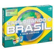 Jogo Explorando O Brasil E Seus Vizinhos - Grow 1658