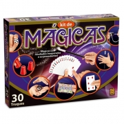 Jogo Kit de Mágicas com acessórios 30 truques - Grow 2525